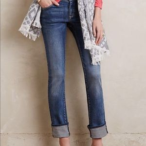 Anthropologie Pilcro Parallel Mid Rise Jean